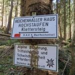 Klettersteig, Alpine Erfahrung, Trittsicherheit. Sind wir hier richtig?