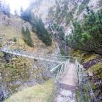 Brücke über die Höllentalklamm