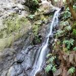 Wasserfall auf dem Weg nach Monte
