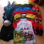 Klamotten für die Trainingswoche