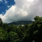 Hochstaufen in Wolken
